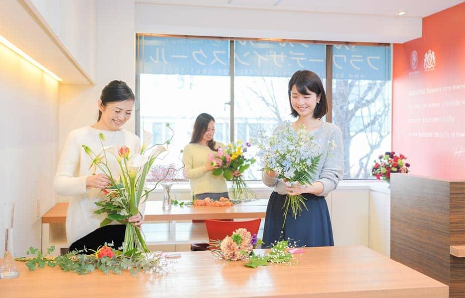 ベル・フルール フラワーデザインスクール 銀座校/Belles Fleurs Flower Design School Ginza