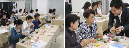 名古屋三越栄店にて今野亮平による体験レッスン