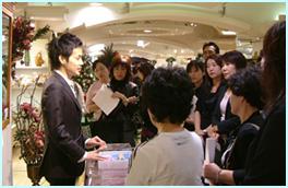 伊勢丹新宿店120周年祭「フラワークリスマス」