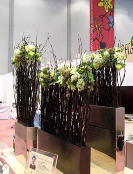 日本フラワーデザイン大賞2007