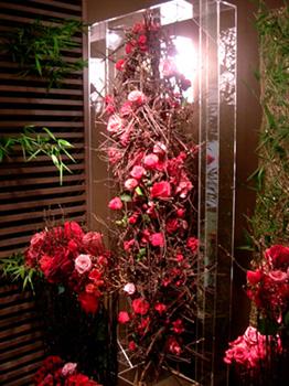 『花時間』プロデュースによる「お招きの花展」