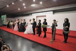 「日本フラワーデザイン大賞2011」舞台