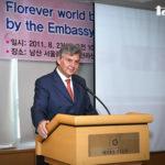 コロンビア大使によるスピーチ