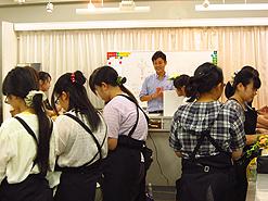 東京テクノ・ホルティ専門学校にて2011特別レッスン実施