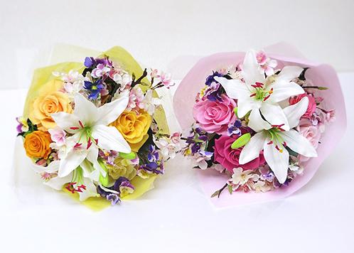 両親へ渡す花束