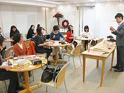 伊勢丹新宿店限定「2013冬のプリザーブドフラワーレッスン 」