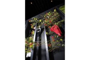 日本フラワーデザイン大賞での今野亮平デザインアレンジメント
