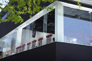 窓から見たnakata.net cafe