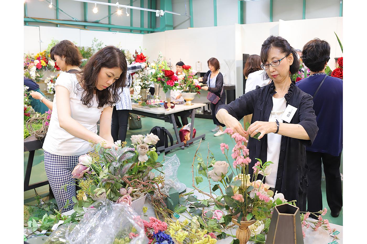 2018夏フラワーデザインスクールサマー研修in長野