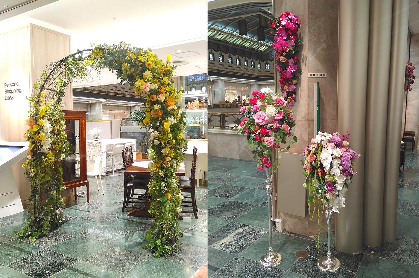 三越日本橋本店「花々祭」