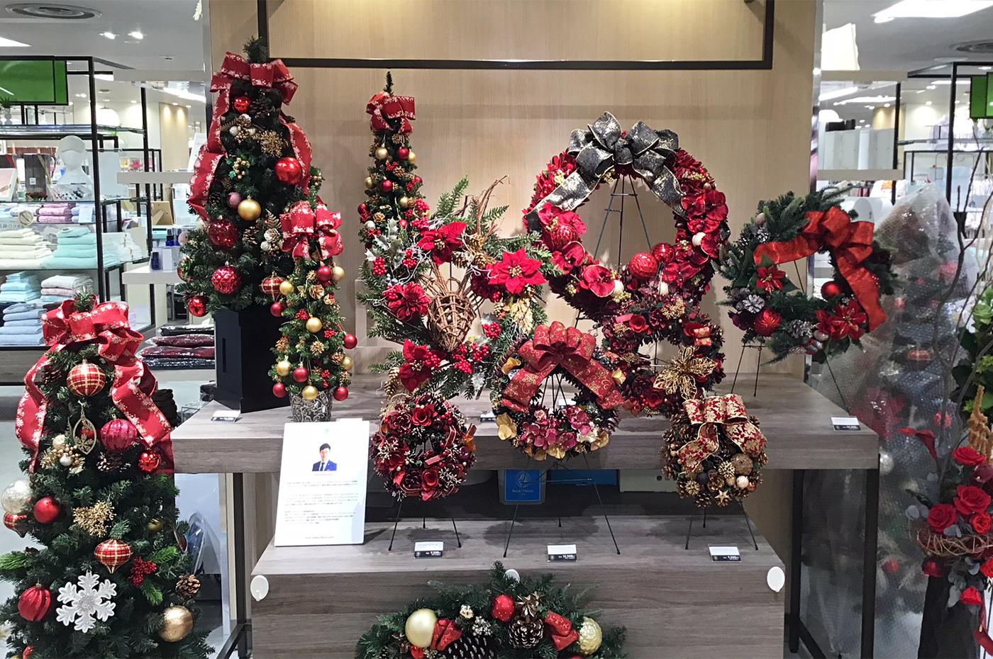 店舗クリスマス展開